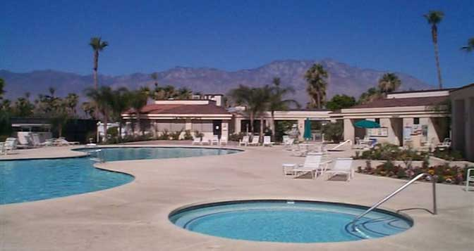 Palm Springs RV Resort, RV Lot Rentals and Sales | Desert